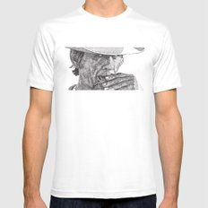 Charles LARGE Mens Fitted Tee White
