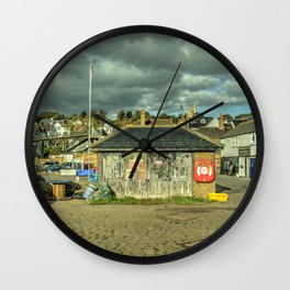 Leigh on Sea Fishermans Shed  Wall Clock