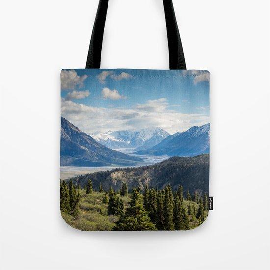Mountain Landscape # sky Tote Bag