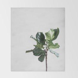 Plant Paradise vol.2 Throw Blanket