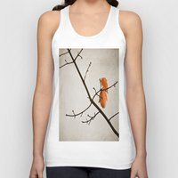 fall Tank Tops featuring Fall by Maite Pons