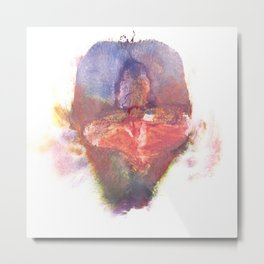 Pepper Kester's Labia Metal Print