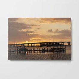 This happens every day.  Metal Print