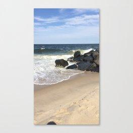 Baesic Belmar Beach Canvas Print
