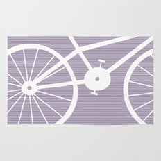 Purple Bike Rug