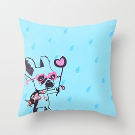 Let's Be Friends 01 Throw Pillow