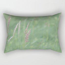 All was quiet Rectangular Pillow