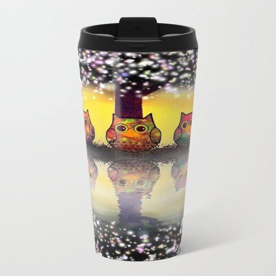 cat-99 Metal Travel Mug