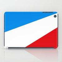 tour de france iPad Cases featuring Tour de France by Anastase Kyriakos