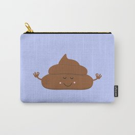 Meditating poo Carry-All Pouch