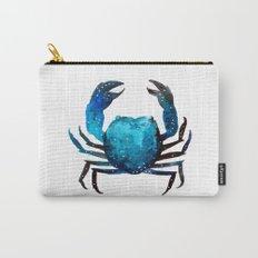 Cerulean blue Crustacean Carry-All Pouch