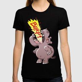 Hippopotamus Burping Loudly T-shirt