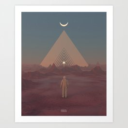 Lost Astronaut Series #01 - Enter the Void Art Print