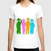 homestuck T-shirts featuring Homestuck Alpha Kids by Crimsonreaper67