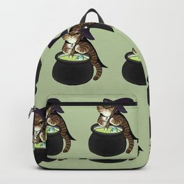 Olaphe the Witch Tabby Cat Backpack