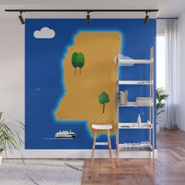 Mississippi Island Wall Mural