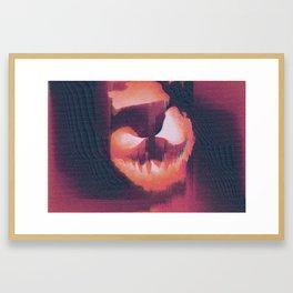 glitchtober_01 Framed Art Print