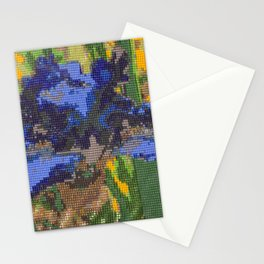 #012 - Beaded Iris Stationery Cards