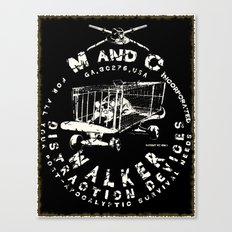 M and C incorporated Canvas Print