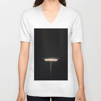 lights V-neck T-shirts featuring Lights by wowpeer
