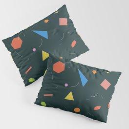 Polygon Soup Pillow Sham