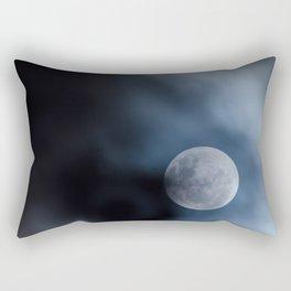 Moon blue 4 Rectangular Pillow