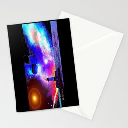 Lighthouse to the stars Stationery Cards