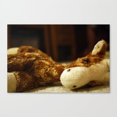 Stuffed Giraffe #1 Canvas Print