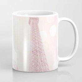 Paris Pink Eiffel Tower Carousel Coffee Mug