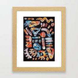 Pattern № 50 Framed Art Print