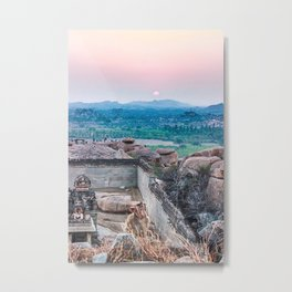 Sunset in the Lost World Metal Print