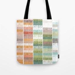 Lily pattern Tote Bag