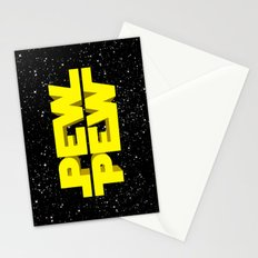 Pew Pew 3D Stationery Cards
