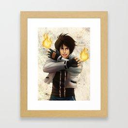 Kyo Kusanagi Framed Art Print