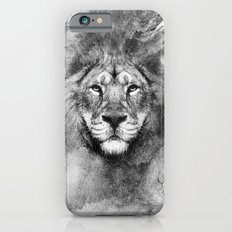 Lion Black and White Slim Case iPhone 6s