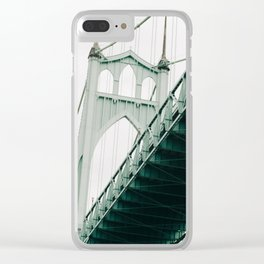 closing the gaps Clear iPhone Case