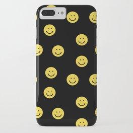 Happy Face - smiley, smiles, happy, emoji, cute, 90s, happy face iPhone Case