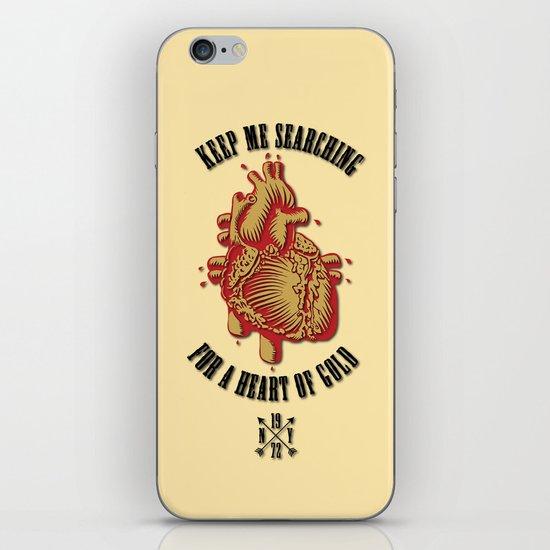 """Heart of Gold""  (""ANALOG zine"") iPhone & iPod Skin"