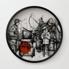 Boiler Wall Clock