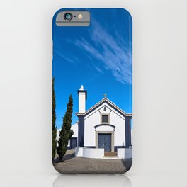 Facade of church of St. Anthony in Portugal iPhone Case