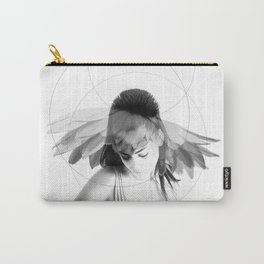 Woman Flower v1 Carry-All Pouch