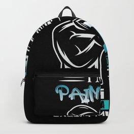Paintball Father Hobby Sport Shirt Design Backpack