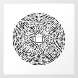 Mecca centric Art Print