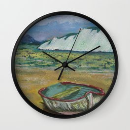 Waiting for the Tide Wall Clock
