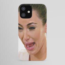Kim K Crying iPhone Case