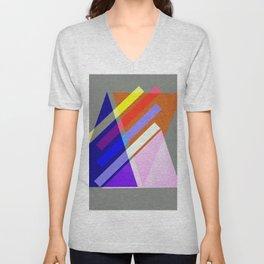 deko design pattern geometric- Unisex V-Neck