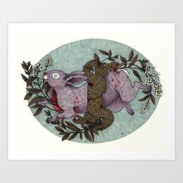 Lovely Wreath Art Print