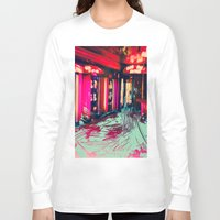 burlesque Long Sleeve T-shirts featuring Burlesque by The Lola is Here Store