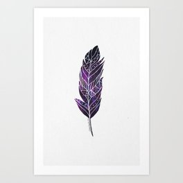 If the Feather Fits... Art Print