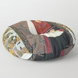 Vision by Nabil Anani Floor Pillow
